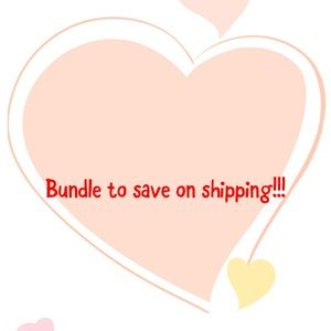 Bundle to save on shipping!!